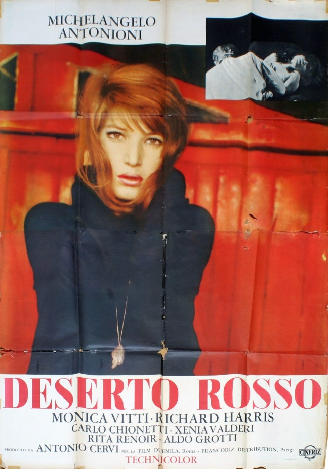 IL DESERTO ROSSO - Italian Poster 2
