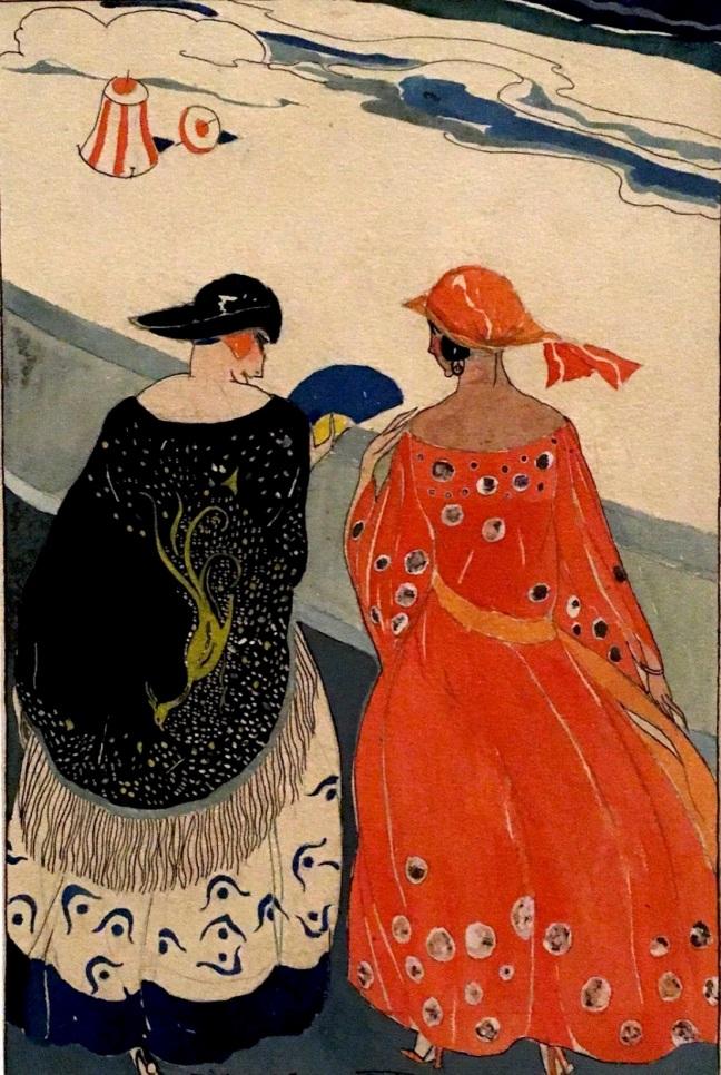 mulheres na praia anos 1920 Di Cavalcanti
