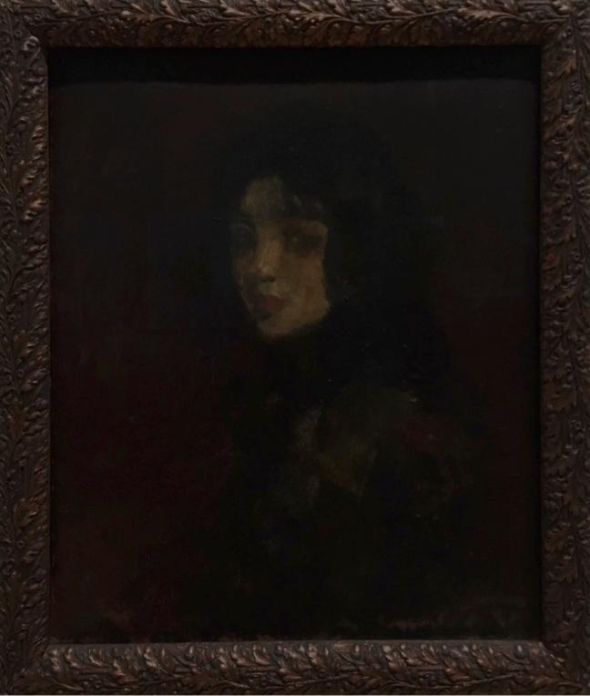 Pinacoteca Di Cavalcanti Retrato de moça 1921 óleo sobre cartão (1)
