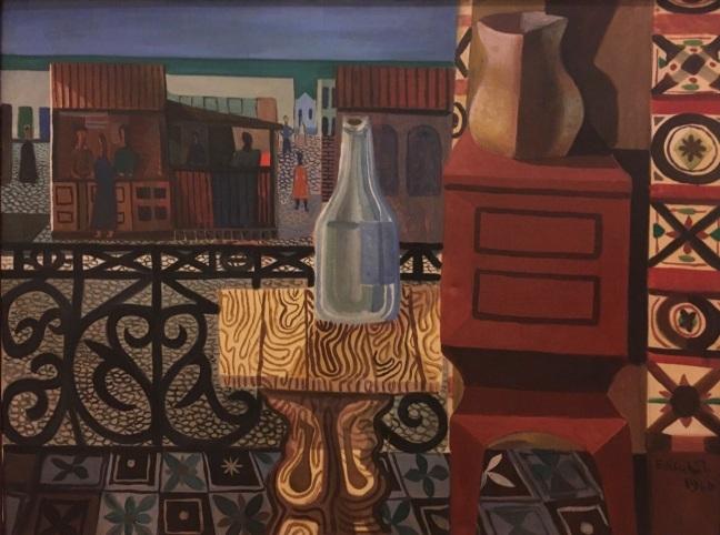 Pinacoteca Di Cavalcanti Varanda 1960 óleo sobre tela