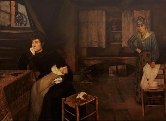 Pinacoteca Pedro weingärtner a fazedora de anjos 1908 óleo sobre tela
