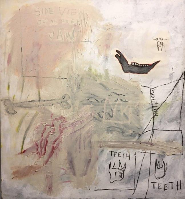 basquiat vista lateral de mandíbula de boi 1982 acrílica sobre tela-1.jpg
